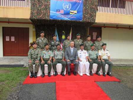 日本はマレーシアのPKO活動を支援