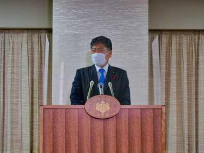 共生社会実現のため日本人と外国人で境界線は引かない、古川法相